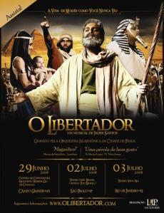 "Musical \""O Libertador\"" de Jader Santos"
