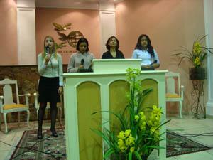 Thay, Lais, Mariana e Renata