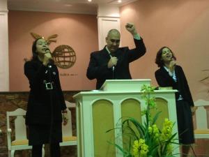 Daniele, Allan e Mariana