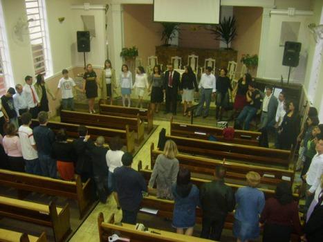 Corrente de Oração - Lançamento da Oração intercessória entre os participantes do JA