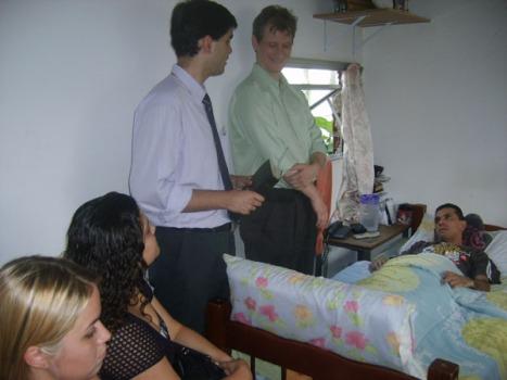 Visita do AME ao João