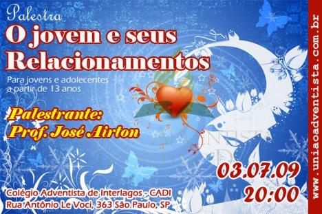 convite_encontro de casais - União Adventista