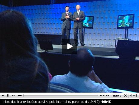 Mark Finley no Brasil - Transmissão ao Vivo